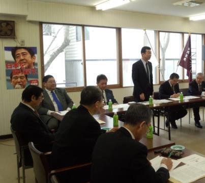 4区支部役員会 自民党北海道第4選挙区役員会を開催。 中村裕之支部長から、役員体制を提案...