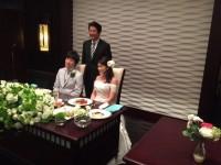 150718結婚式で総理と②