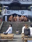 160507小樽稲荷神社夜桜ライブ