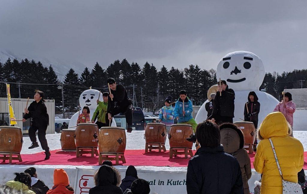 雪トピアフェスティバル2020の様子